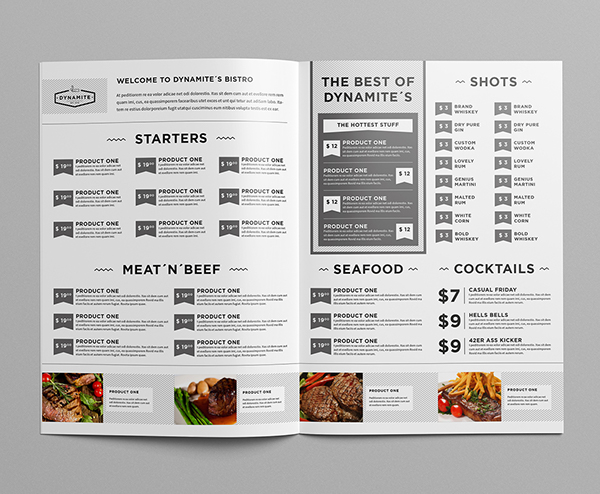 Food & Restaurant Menu Design on Behance