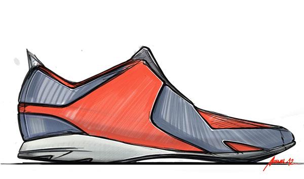 Footwear doodles