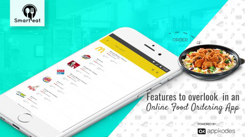 Aspiring Online Food Ordering Business on Student Show
