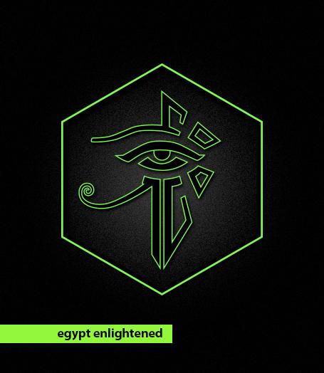 egypt enlightened ingress on behance