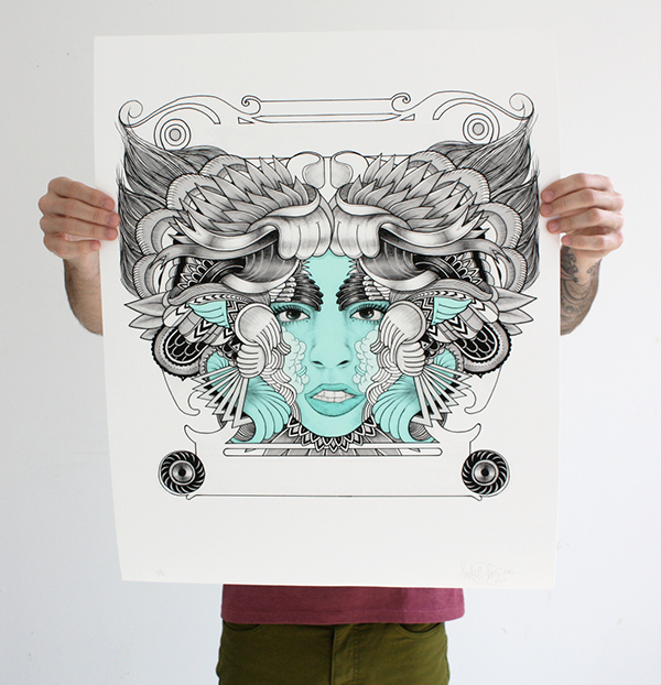 The art show vol 1 on behance for Geometricity project