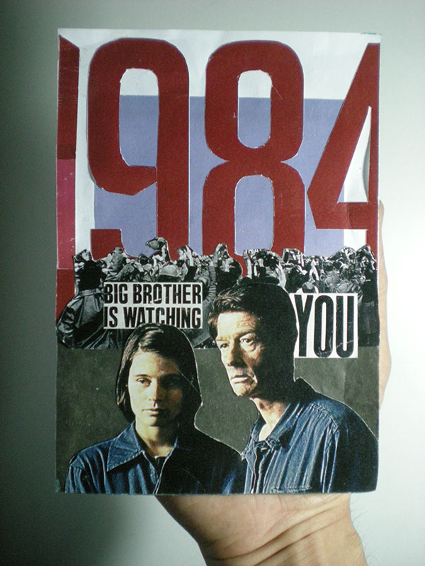 1984 Movie Poster On Student Show