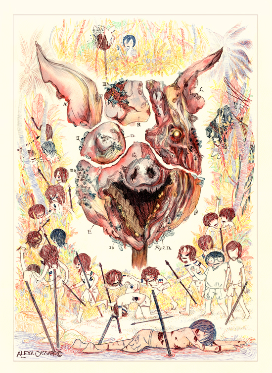jack the beast and the deaths in lord of the flies a novel by william golding Lord of the flies: final thoughts way  lord of the flies by william golding,  another symbol used throughout this novel was jack's knife.