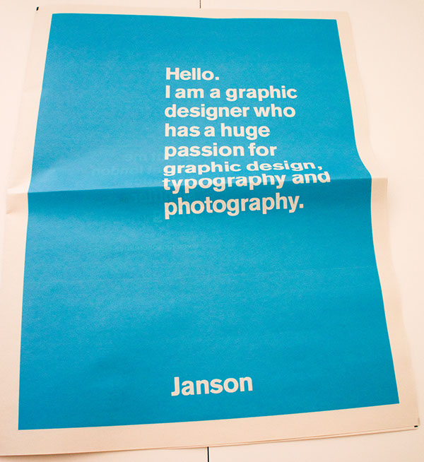 Janson creative identity