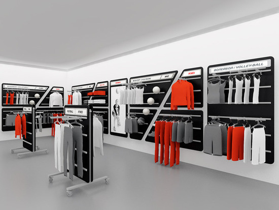 Sporting Goods Equipment ~ Trade equipment quot active for sporting stores on behance