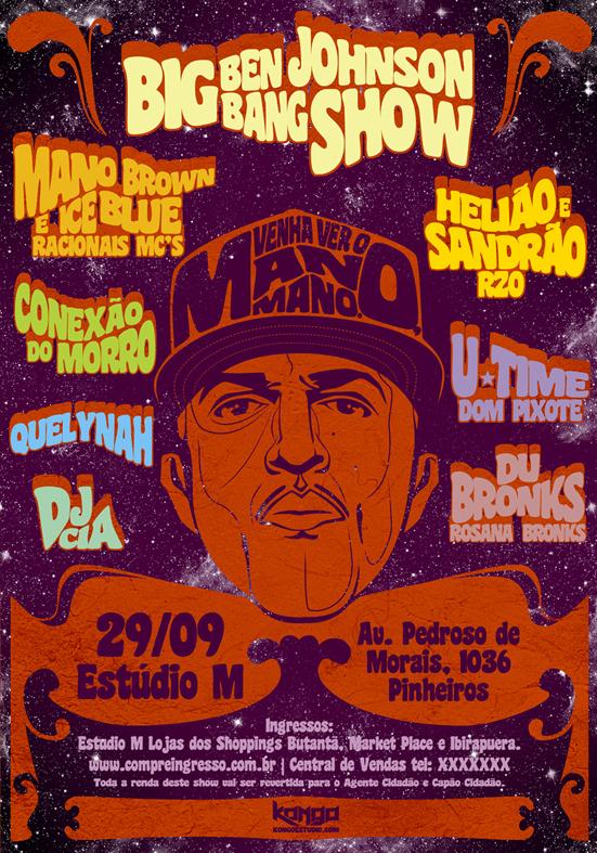 kongo hip hop poster Mano Brown