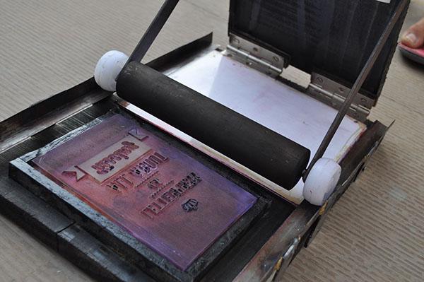letterpress printer machine