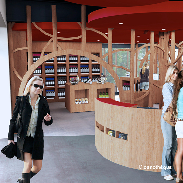 winery  interior  design  wine cave  vinotheque oenothèque