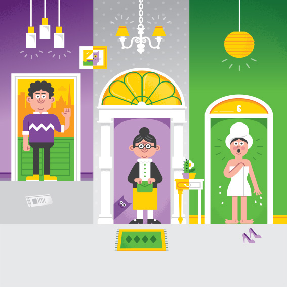 Direct mail,Ireland,Doors,characters