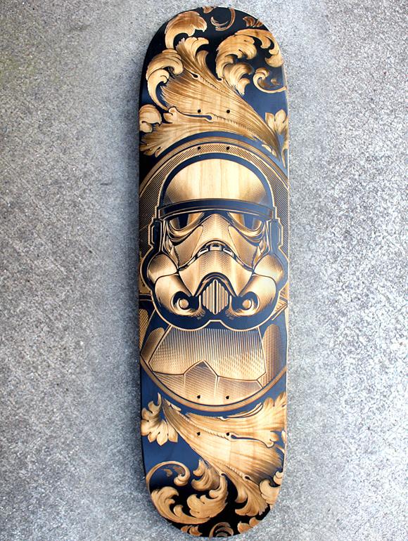 Star Wars Skateboards by Joshua M. Smith