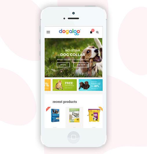 dog pet supplies online store