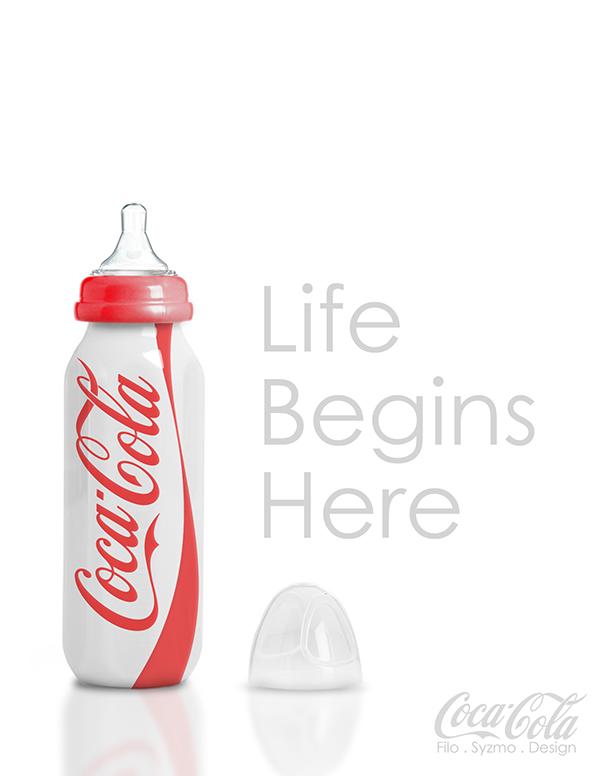 Coca-Cola Advertisement Poster on Behance