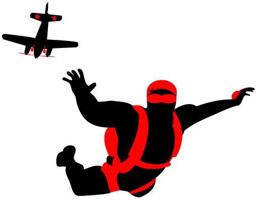 Do A Free Skydive.ca - Logo u0026 Website on Behance