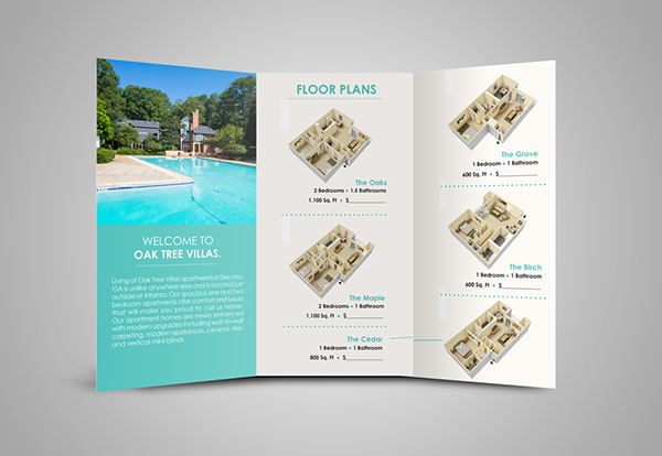 Apartment Brochure Design Luxury Apartment Brochure On Aiga Member Gallery