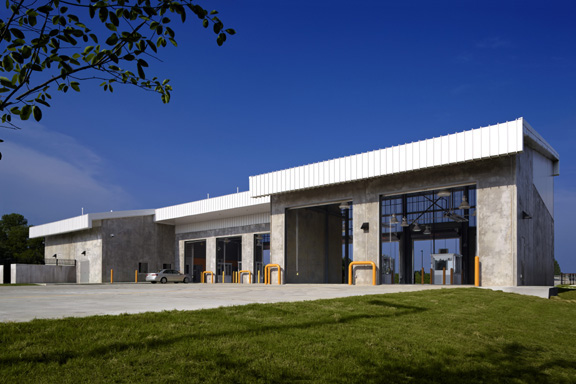 Motor Vehicle Inspection Station On Architecture Served
