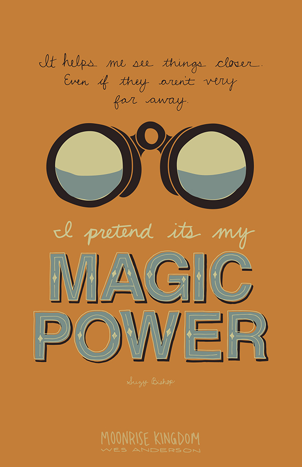 Moonrise Kingdom Quote Posters on Behance