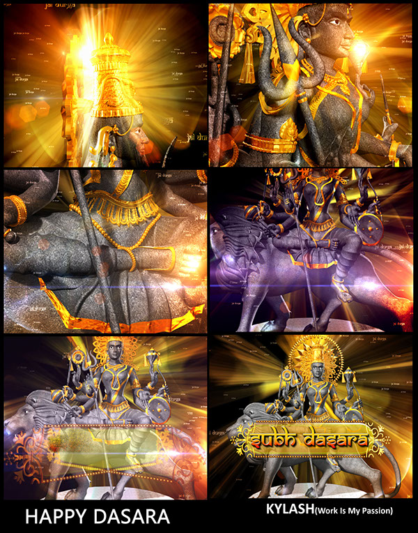 DASARA WISHES by KAILASH GFXS