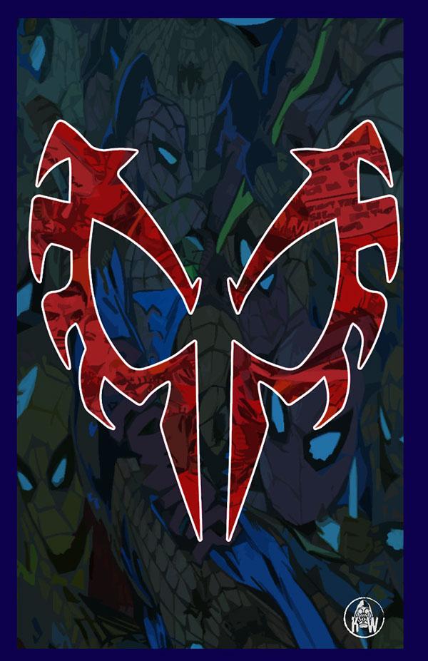 Spider Man 2099 Phone Wallpaper On Behance