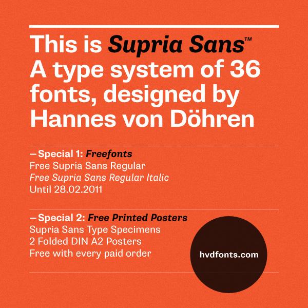 Supria Sans (Type System) on Behance