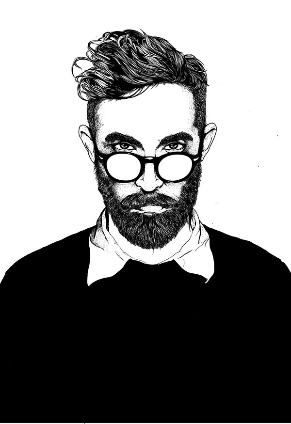 The Beauty and the Beard on Behance