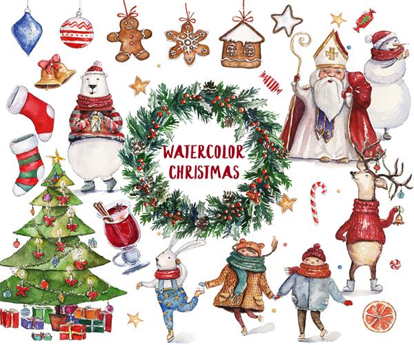 極美的15套聖誕節圖畫欣賞
