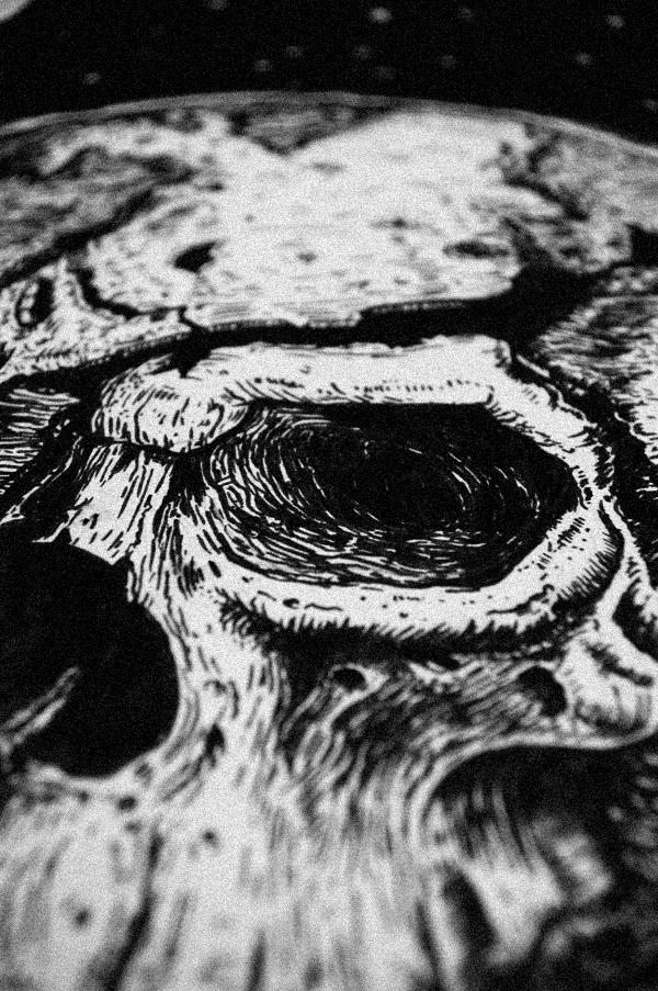Funboy dark ILLUSTRATION  earth Drawing  alexpanci    ink  decay death  World  damn  post  atomic  art