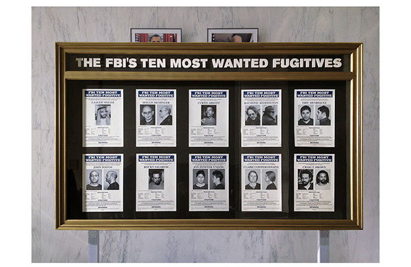 The fbi s 10 most wanted board raymond reddington is number four
