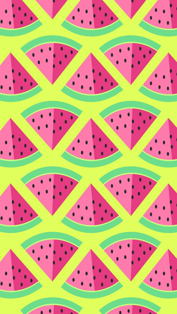watermelon wallpaper on behance