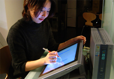 touch interface design tactile