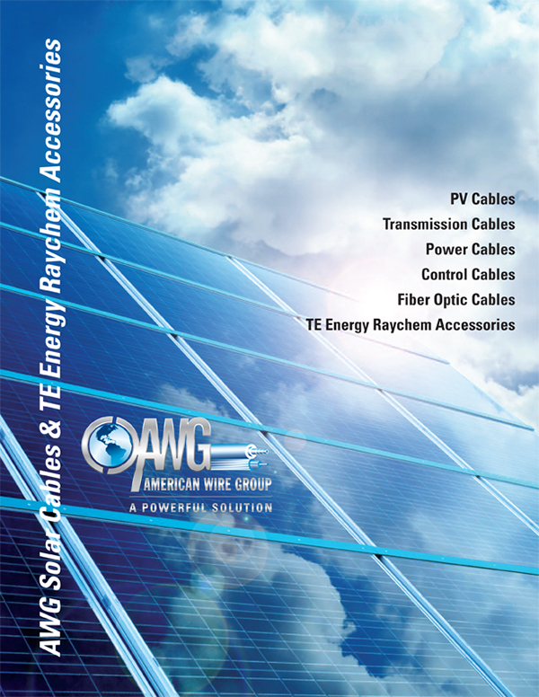 American Wire Group Solar Cable Line Card on Behance