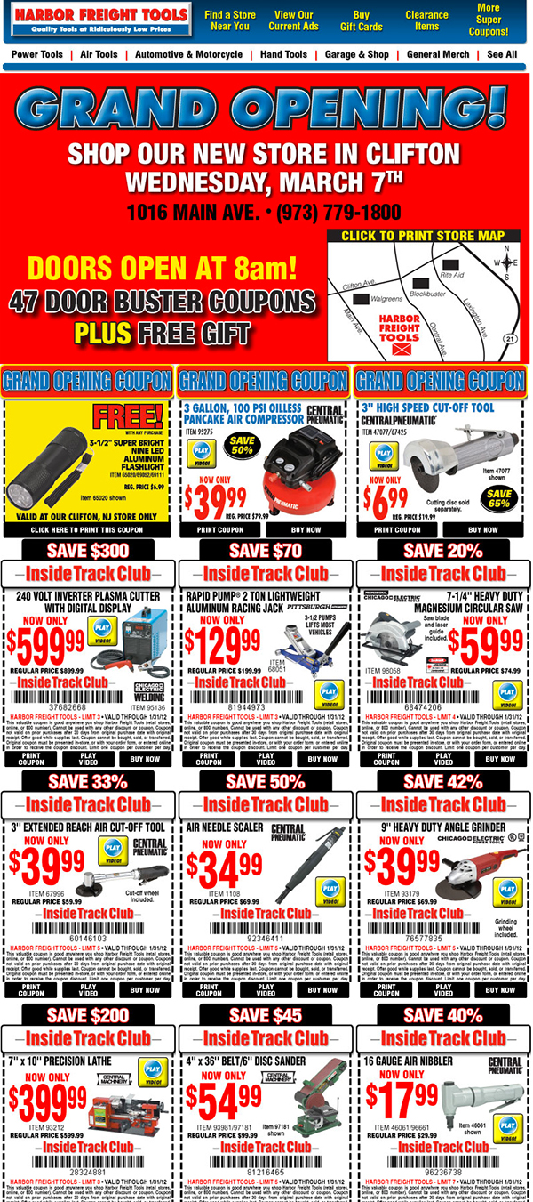 Harbor Freight Tools On Behance