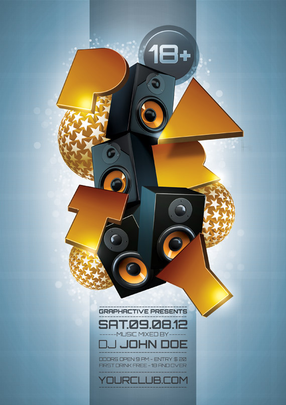 Party Poster Design Templates on Behance