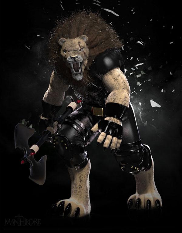 Lion Gado by Alejandra Jimenez