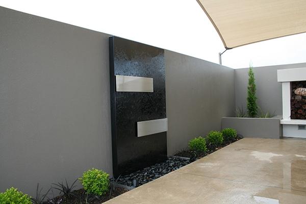 mirror black stainless steel water sculptures on behance. Black Bedroom Furniture Sets. Home Design Ideas