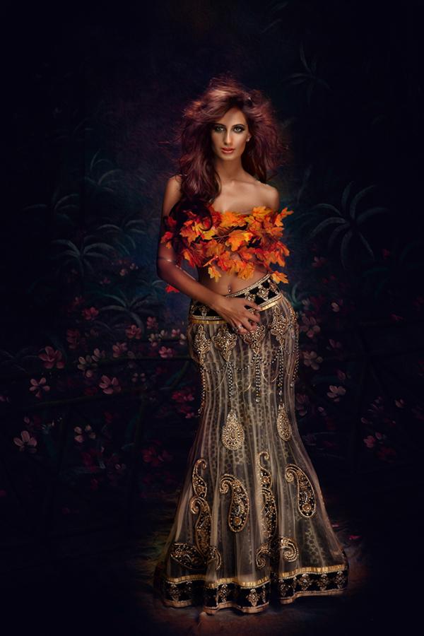 Bal Deo fashion photo shoot