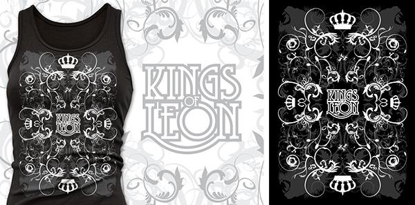 Kings of Leon T-shirts Kings of Leon Partnered