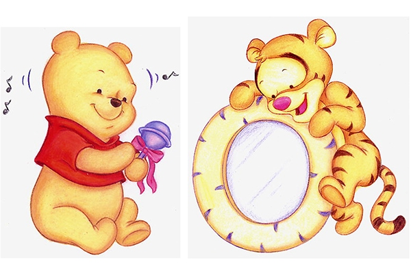 Baby Winnie The Pooh Plush Designs On Behance