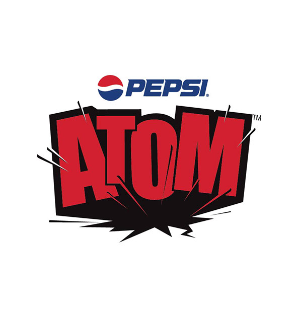 pepsi atom Pepsi atom is the second mainstream cola from the company in the country, after the company's flagship brand, pepsi, pepsico india said in a statement.