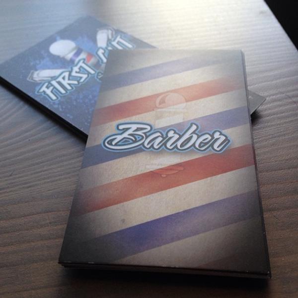 Barber Shop Business Cards on Behance