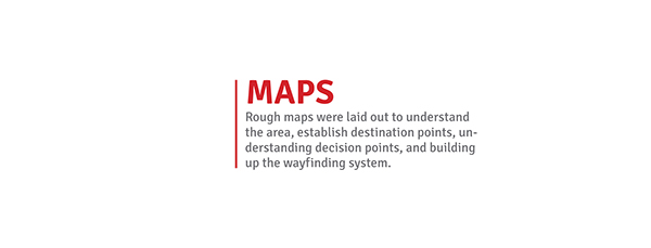 wayfinding Finearts  Navigation