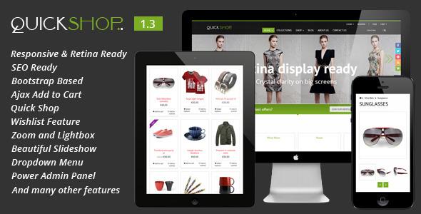 Responsive Shopify Theme on Behance