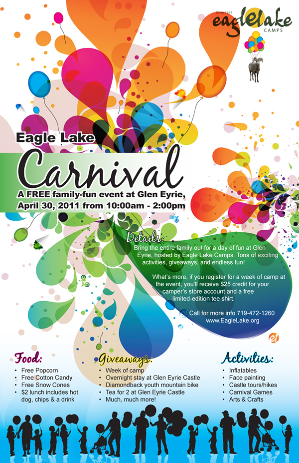 Carnival poster template free