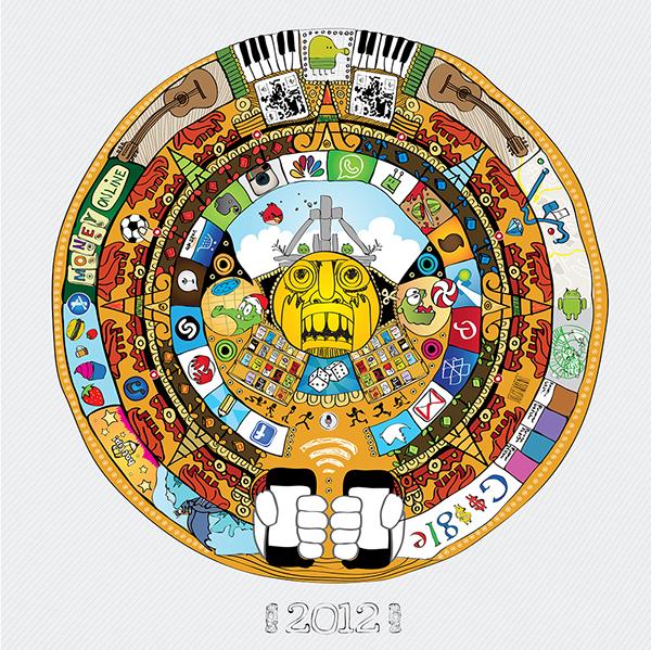Mayan Calendar 2012 On Behance