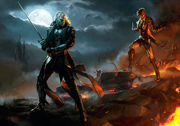 Magic: The Gathering // Wizards of the Coast on Behance