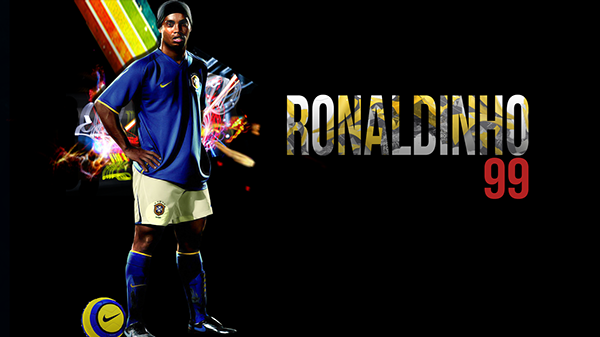 Ronaldinho wallpaper on behance - Ronaldinho wallpaper ...