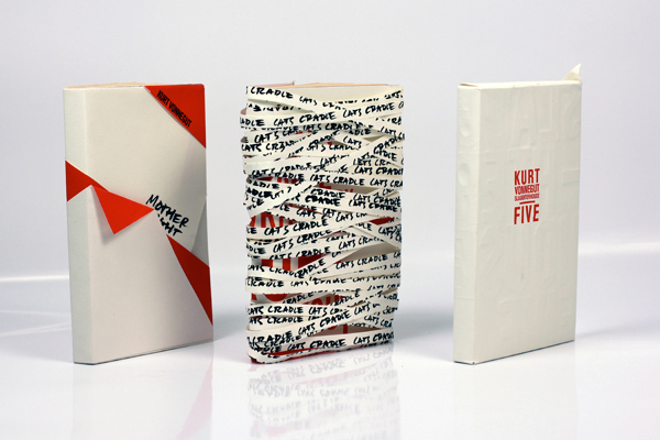 Book Cover Series Examples ~ Vonnegut de structure book cover series on behance
