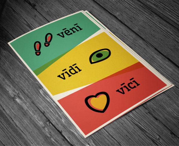 veni vidi vici graphic print poster vectors tee t-shirt design julius ceaser quote