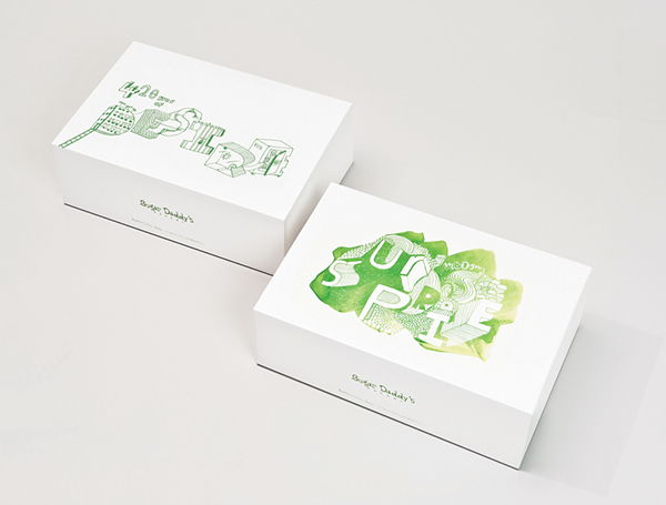 Cake Design Box : Cake Box Packaging design on Behance