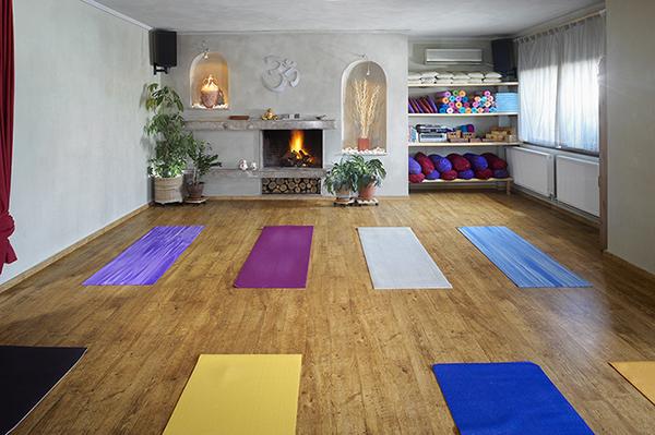 Дизайн студии йоги
