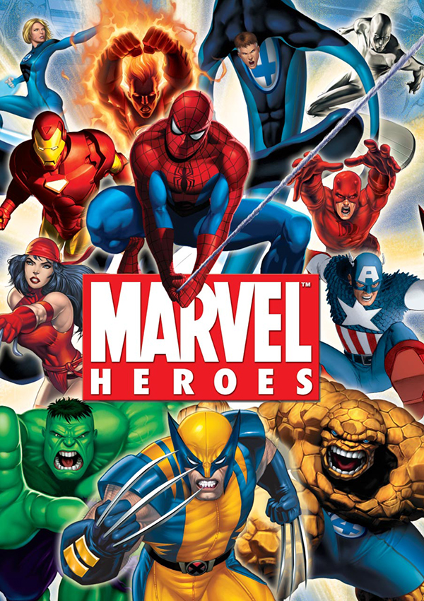 Marvel Character Design Behance : Marvel heroes style guide on behance